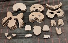Simple Mask Templates for 60 masks