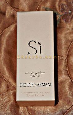Парфюмерная вода Giorgio Armani Sì Intense - фаворит в моей коллекции ароматов