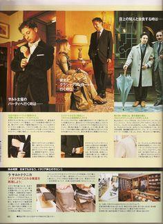 Sartoria Gallo Men's Club Japan