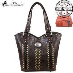Montana West Concealed Handgun Collection Floral Tooled Handbag – Handbag Addict.com