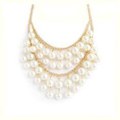Gargantilla dorada con perlas blancas - PVP: 9,99€ - Más información en la web: http://ohlalabijoux.com/collares/303-gargantilla-dorada-con-perlas-blancas.html  http://www.ohlalabijoux.com/  #collares #bisuteria #complementos #tienda-bisuteria-online #ohlalabijoux