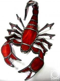 Scorpion Tiffany 13x15cm