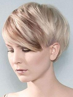 Mia Wasikowska, pixie haircut. Super short, but so pretty. I love ...