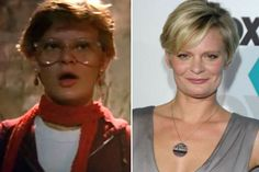 "Martha Plimpton.  Then & now.  Every time we watch Raising Hope my kids say, ""she's in the Goonies!""  :)"