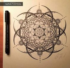 63 Ideas Tattoo Geometric Circle Sacred Geometry #tattoo