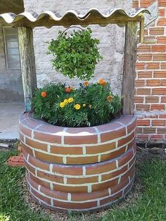 Pour décorer votre jardin, on vous propose dans cet article un astuce génial, en réalisant un puits artificiel. Suivez ces trois étapes: