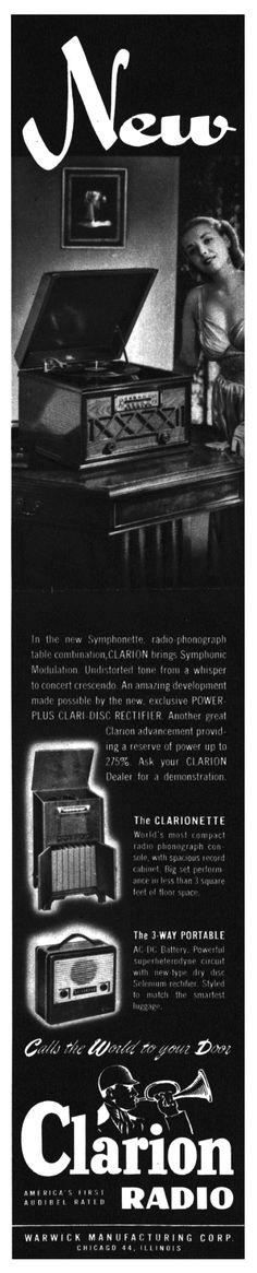 CLARION RADIO.