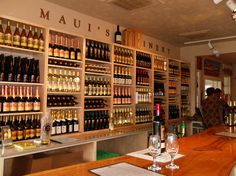 Perfect place to stop if your are site-seeing. Have a glass of wine and buy a bottle of champagne vinegar for veggies! Maui Winery - tasting room