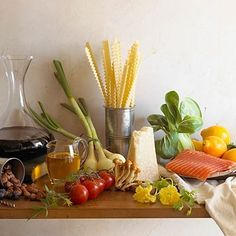 Study after study has shown that a Mediterranean-style diet rich in fish, nuts, vegetables and fruits seems to lower your risk of heart trouble. | Health.com