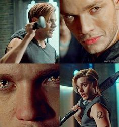 """""""On Infernal Ground"""" - Jace Alec And Jace, Clary E Jace, Clary Fray, Jace Lightwood, Isabelle Lightwood, Shadowhunters Season 3, Dominic Sherwood, Shadowhunters The Mortal Instruments, Jamie Campbell Bower"""