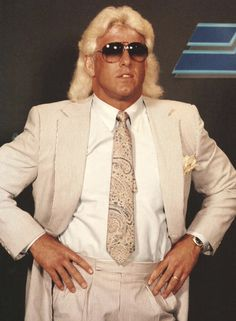 Nwa Wrestling, Wwe Raw And Smackdown, Contact Sport, Ric Flair, Sports Basketball, Legends, Suit Jacket, Suits, School