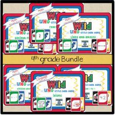 Free WILD Card bundle by Grade level