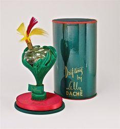 1941 Lilly Dache Drifting Figural Perfume Bottle