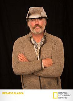 Conheça Marty Raney, um dos oito exploradores desta expedição de proporções épicas.  Desafio Alasca. #DesafioAlasca  www.natgeo.com.br/desafioalasca