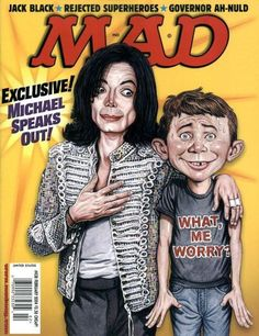 Cover for MAD (EC 1952 serie) #438 [Michael Jackson Cover]  FEBRUARY 2004