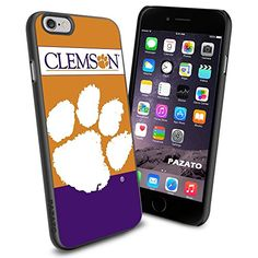 """Clemson Tigers iPhone 6 4.7"""" Case Cover Protector for iPhone 6 TPU Rubber Case SHUMMA http://www.amazon.com/dp/B00T46PPBA/ref=cm_sw_r_pi_dp_iszmvb1A7X5W8"""