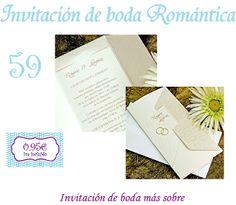 INFOCOPY Invitaciones, detalles y fotografia de Boda: Invitaciones de boda Zaragoza