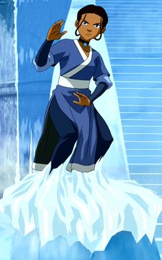 Katara I am a big fan of the cartoon Avatar: The Last Airbender . My favorite character is Katara. Naturally, then, I should cosplay her. Avatar Airbender, Avatar Aang, Team Avatar, Avatar Cosplay, Katara Costume, Avatar Costumes, Avatar Cartoon, Water Bending, Water Tribe