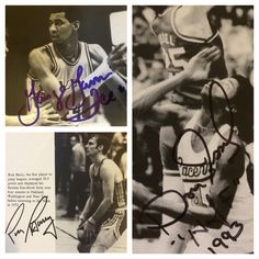 Loose Balls (3 of 3). George Gervin (obtained in-person), Dan Issel (obtained in-person), Rick Barry (obtained via mail).