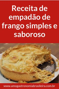Churros, Baking Recipes, Cake Recipes, Brazillian Food, My Favorite Food, Favorite Recipes, Bebidas Detox, Salmon And Asparagus, Savory Tart
