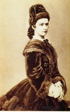 Empress Elisabeth of Austria (Sisi, due to the movie also known now as Sissi, 1837-1898)