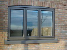 Our aluminium casement windows are supplied & installed in the Thame, Oxford, Aylesbury & Bicester area. Affordable windows built to last. Aluminum Windows Design, Aluminium Windows And Doors, Casement Windows, Modern Exterior Doors, Exterior Windows, Window Cost, Cottage Windows, Family House Plans, Brick Colors
