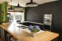 Kitchen #kitchen #blackkitchen