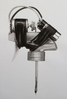 Paintings Of DIY Tattoo Rigs By Prison Inmates
