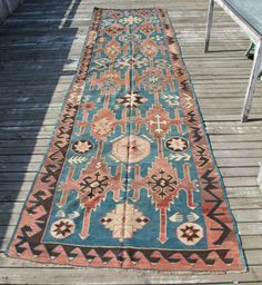 **Once again, not Native American but what an irresistable palette of Desert colors to put an eclectic twist on the Southwestern decor! Absolutely GORGEOUS! LjB** https://www.etsy.com/listing/247450421/vintage-daghestan-avar-kilim-all-wool