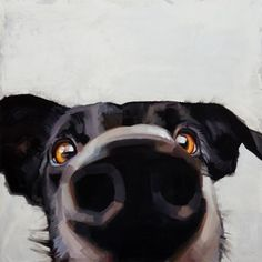 Cristall Harper :: Astoria Fine Art Gallery in Jackson Hole Art And Illustration, Dog Nose, Photo Images, Wow Art, Dog Portraits, Whimsical Art, Art Sketchbook, Fine Art Gallery, Animal Paintings