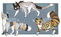 Auctions by DaisiesAdopts on DeviantArt Warrior Cat Memes, Warrior Cats Fan Art, Warrior Cats Art, Character Inspiration, Character Art, Character Design, Cat Design, Animal Design, Animal Drawings