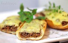 Barcas de Pão com Carne e Queijo ~ PANELATERAPIA - Blog de Culinária, Gastronomia e Receitas