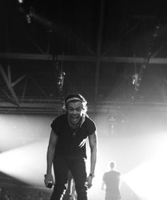 Harry at the SLC concert! I WENT TO THAT CONCERT OH MY GOODNESS AMAZING