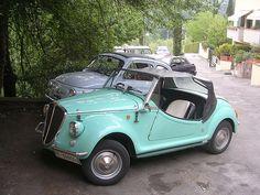 Fiat 500 Gamine 1972 Firenze Italy #TuscanyAgriturismoGiratola