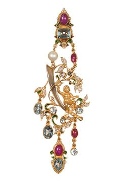 Percossi Papi Earrings - Vogue.it #baroque
