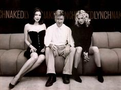 Mulholland Drive.   On this picture: Laura Harring, David Lynch, Naomi Watts.