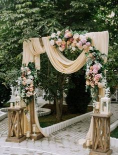 Wedding Ceremony Decorations Ideas Wedding Ceremony Decorations Ideas - Macrame Wedding Backdrop Arbour Arch Ceremony Backdrop Boho Dusty Rose and Burgundy Wedding Arch Chiffon Panels Canopy Beige Wedding, Floral Wedding, Wedding Colors, Wedding Bouquets, Wedding Flowers, Wedding Vintage, Trendy Wedding, Wedding Dresses, Perfect Wedding