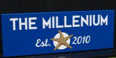 The Millenium Property Sign   Danthonia Designs