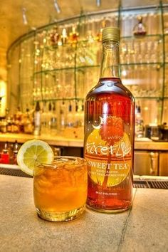 Firefly sweet tea vodka & lemonade, seriously the most refreshing cocktail ever! :)