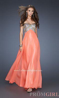 Long Prom Dress by La Femme 18710 at PromGirl.com