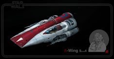 A-wing Series 4 /  redesign, Herve Groussin aka Nuro on ArtStation at https://www.artstation.com/artwork/b8zoo