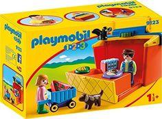 Amazon.de:PLAYMOBIL 9123 - Mein Marktstand zum Mitnehmen