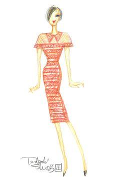 """East Meets West."" @Tadashi Ohgami Shoji @Debbie Reagan   http://www.wwd.com/fashion-news/fashion-features/new-york-designer-inspirations-part-one-6198141/slideshow#/slideshow/article/6198141/6198308"