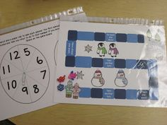 Put math games in page protectors instead of laminating