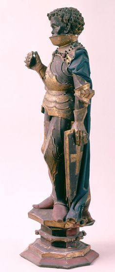 Saint Maurice Germany (1490) Polychrome and Gilded Wood