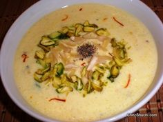 phirni(royal rice pudding)