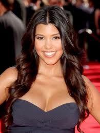 Kourtney Kardashian waves