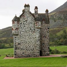 Forter Castle, Scotland.