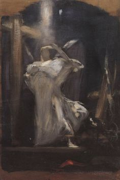 .:. Γύζης Νικόλαος – Gyzis Nikolaos [1842-1901] Αρχάγγελος 7 Baphomet, Jesus Painting, Danse Macabre, Heaven And Hell, Greek Art, Illustrations, Drawing Reference, Gallery, Drawings