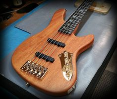 with a Tung-Oiled finish over a Mahogany Body. Tung Oil Finish, Kiesel, Cool Guitar, Guitars, Bass, Heaven, Music Instruments, Pure Products, Elegant